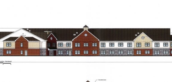 High View Senior Housing Fairport sketch